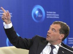Грузинская сторона считает, что Медведев нарушает законодательство страны