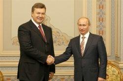 Путин и Янукович провели рабочую встречу в Сочи