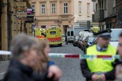 В центре Праги прогремел мощнейший взрыв газа
