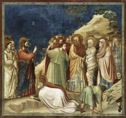 Фреска Воскресение Иисуса - в апартаментах Борджиа было замечено первое европейское изображение индейцев