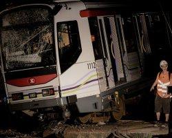 Крушение поезда в Гонконге