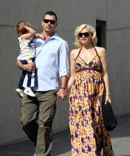Гвен Стефани беременна третьим ребенком? (24 фото)