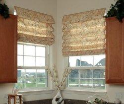 Рулонные шторы на окна ПВХ – красиво, элегантно и практично