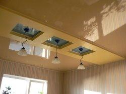 Ремонт квартир: натяжные потолки